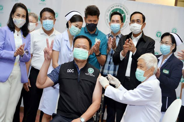Thailand Kicks off COVID-19 Vaccination Campaign & Plans to Open Tourism